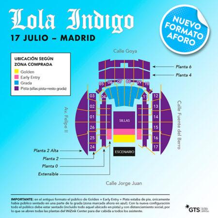 Lola Indigo Madrid